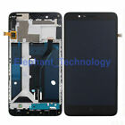 QC For ZTE Zmax Pro Z981 Max Z982 Z983 N9560 LCD Screen Touch Digitizer Frame