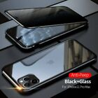Magnetic Case For iPhone 11 Pro Max Adsorption Double Sided Tempered Glass Cover