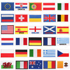 International World Countries European Union Flag Embroidered Iron ON Patch