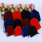 10pc Velvet Packing Drawstring Pouch Sachet Gift Bag Rope Jewelry Party Storage