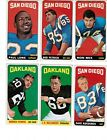 1965 topps football card SINGLES PICK YOUR CARD +see scans $4.0 USD on eBay