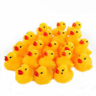 Kyпить 1~2000pcs Cute Mini Yellow Rubber Ducks Bathing Floating Ducky Baby Shower Toys на еВаy.соm