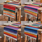 "Mexican Serape Table Runner 14 x 84"" Tablecloth Mexican Party Wedding Decoration"