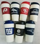U-PICK NFL Team 16oz Plastic Tumbler Coffee Cup Travel Mug Insulated NoSpill A43 $13.77 USD on eBay