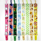 1pcs Girls Boys Cute Pacifier Chain Baby Products Clip Tether Toddler Holders