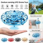 360° Mini UFO Drone RC Infrared Sensor Induction Quadcopter Flying Aircraft Toy