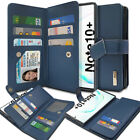 Leather Wallet Flip Card Holder Cover Case for Galaxy Note10 Note 9 / S10 S9 A90