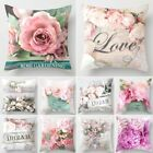 """18''x18"""" Christmas Sofa Pillow Case Rose Flower Cushion Cover Decorative Covers"""