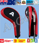 Set of 10 Golf Club Iron Head Covers - 3 colours - AU Stock - Long Neck with Zip