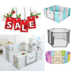Used, Baby Playpen Kids 16 Panel Safety Play Center Yard Home Indoor Pen Fence Outdoor for sale  Shipping to South Africa