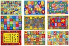 Kids Rugs for Playroom Bedroom 8x10 Boys Girls Children Room D cor Rugs and Mats