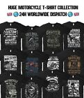 Motorcycle T Shirt Indian Motorbike Triumph Dakar Race Harley Davidson Biker $20.27 AUD on eBay