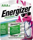 ENERGIZER AAA RECHARGEABLE BATTERIES NiMH 1.2V Recharge 4-Count WHOLESALE LOT