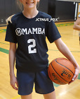 Kyпить NEW Gigi Bryant T-Shirt Jersey MAMBA Sports Academy Black 2 Gianna Kobe USA SHIP на еВаy.соm