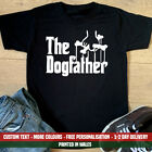 The Dogfather T Shirt Funny Dog Father Fathers Day Gift Top Dad Labrador Staffy