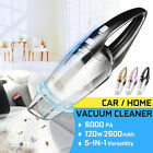 Car Vacuum Cleaner Portable Cordless For Auto Mini Hand Held Wet Dry High
