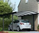Gardendreams Aluminium Carport Bogendach Unterstand Garage Überdachung Bausatz