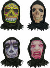 Halloween Fancy Dress Party Skin Mask With Hood Assorted Design -Sold Separately