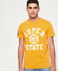 Superdry Mens Upstate Wash T-Shirt <br/> MSRP $34.5 - BUY FROM THE OFFICIAL SUPERDRY EBAY STORE