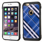 For iPhone 6S Plus/6+ Hard Design +Silicone Cover Protector Case