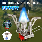 3000W Outdoor Mini Portable Gas Stove Furnace Foldable Lightweight Camping 10kg