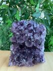 Amethyst Cluster, Amethyst Geode From Uruguay Cut Base, Pick a Size