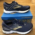 Brooks Adrenaline GTS 19 Mens Navy/Grey in multiple sizes and widths