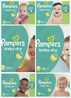 Kyпить Pampers Baby Dry Diapers Size 2, 3, 4, 5 CHEAP!!! на еВаy.соm