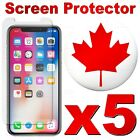 Tempered Glass Screen Protector for iPhone SE XR XS MAX X 11 Pro 8 7 6S 6 5 Plus <br/> 🔥 · 5 PACK · 🔥 · FAST SHIP · 🔥 · HIGH QUALITY · 🔥