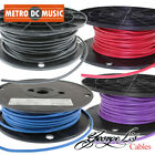 George L's .155 BLACK RED BLUE PURPLE Solderless Pedal Board Patch Cable Bulk Ft