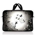Neoprene Sleeve Laptop Computer Case Bag with Handle Fit 10 inch to 17.4 inch