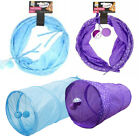 Good Girl Cat Kitten Tunnel Ball Toy Pop Up Collapsible Play Activity Tube Tease
