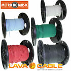 Lava Tightrope BLACK RED BLUE WHITE GREEN Bulk Cable Guitar Patch Cord by Foot
