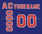 New York Rangers Customized Number Kit for 1991-92 Turn Back The Clock Jersey $34.99 USD on eBay