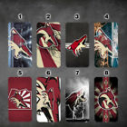wallet case Arizona Coyotes iphone 7 iphone 6 6+ 5 7 X XR XS MAX case $17.99 USD on eBay