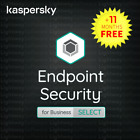 Kaspersky Endpoint Security Business SELECT - 1 year for 60 to 200 devices