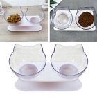 Round Cat Dog Elevated Bowls Pet Raised Feeder For Small Animals Chihuahua