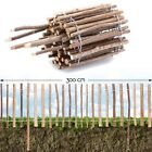 Fence Plug Wood With Bark · Flower Bed Mount Border Roll Banisters Garden Fence