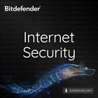 Bitdefender Internet Security 2021 - 1 to 3 years for 1 to 5 PC Code Key