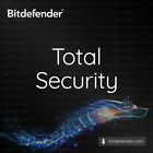Bitdefender Total Security 2021 - 1 year for 5 devices (Code Key)