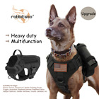 Rabbitgoo Tactical Dog Harness with Handle Nopull Large Military Dog Vest Collar