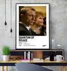 James Bond Quantum of Solace (2008) Minimalist Movie Film Gloss Poster Print HD £7.5 GBP on eBay