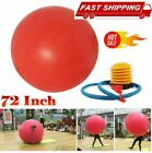 New 72 inch Social Distance Giant Human Egg Balloon Round Funny Toy Non-toxic