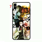 Steins;Gate soft Phone Case Cover for Iphone XR XS Max Plus 11