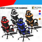 IT GAMING SEDIA DA GIOCO GAMER POLTRONA UFFICIO RECLINABILE GIREVOLE ERGONOMICA
