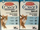 Bob Martin Flea Clear Spot On Cat KILLS Fleas Ticks Same Ingredient as FRONTLINE
