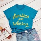 Sunshine and Whiskey Shirt-Southern Shirt-Party Shirt-Country Shirt-Beach Shirt