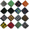 More images of Tartan Scottish Purled Fringe Budget Fly Plaid Mixed Tartan Stock Clearance Sale