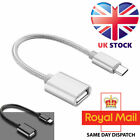 USB Type C to USB A Female OTG On The Go USB Host Adapter Cable