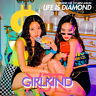 GIRLKIND XJR - Life is Diamond CD+28p Booklet+2Photocards+Tracking no.